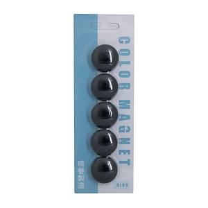 白板珠 黑色 直徑30毫米 - 5粒裝