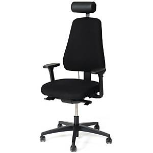 LANABDESIGN OFFICE CHAIR LD 6340 BLACK