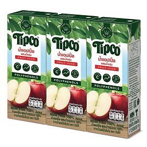 TIPCO APPLE & GRAPE JUICE 100% PACK OF 3