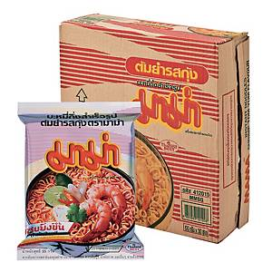 MAMA Instant Noodle Tom Yam Kung Pack of 30
