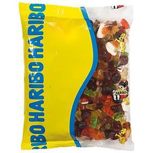 Saco de gomas Haribo - 1 kg - sortido