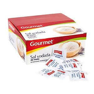 Caixa 300 saquetas de sal Gourmet - 1 g
