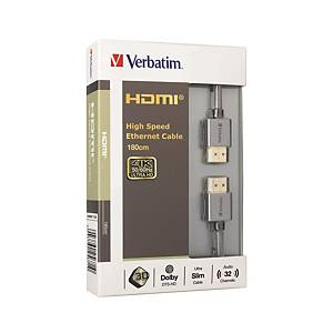 Verbatim HDMI to HDMI 2.0 4K Cable 180cm
