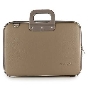BOMBATA E00332-21 L/TOP CASE 15  TAUPE