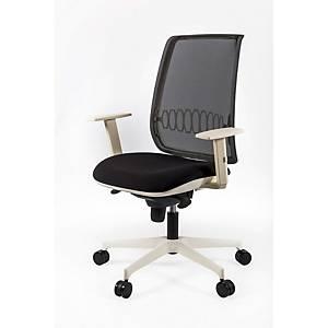 Cadeira com mecanismo sincronizado Italy - branco