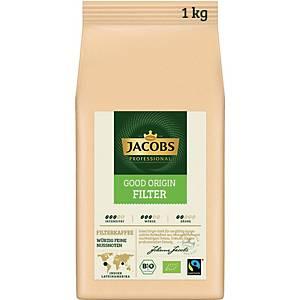 Kaffee Jacobs Good Origin Filter, gemahlen, 1000g