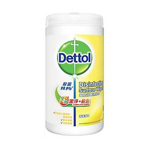 Dettol Complete Clean Surface Wipes - 80 sheets