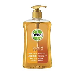 Dettol Gold Classic Clean Handwash 500g