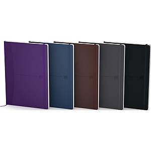 Notesbog Flex, A5, 160 ark, 90 g, ass. farver