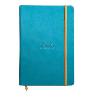Caderno de capa dura Rhodiorama - A5 - 96 folhas - liso
