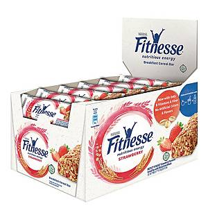 Nestle Fitness Cereal Bar Strawberry 23.5g - Box of 16