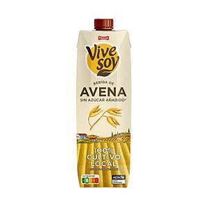 Pack de 6 briks de leche de avena Vivesoy - 1 L