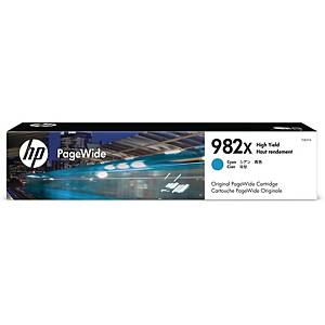 Bläckpatron HP 982X T0B27A, 16 000 sidor, cyan