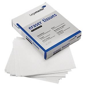 Ersatzlöschpapier für Legamaster Whiteboardlöscher, Packung mit 100 Stück