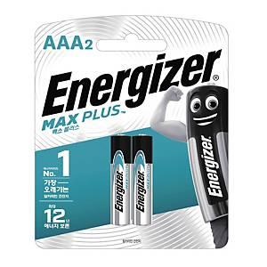 에너자이저 MAX PLUS AAA 2개입