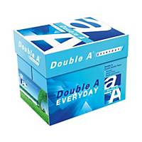 Double A A4 優質多功能影印紙 70磅 - 每箱5捻 (每捻500張)