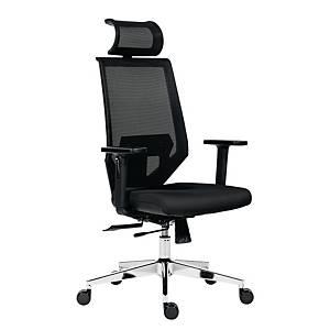 Antares Edge főnöki fotel, fekete