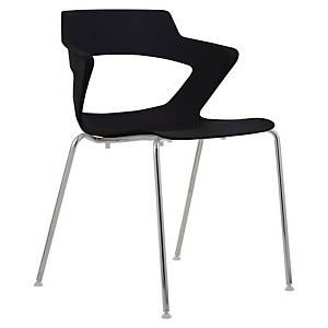 Konferenční židle Antares Aoki, černá