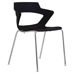 Konferenčná stolička Antares Aoki, čierna