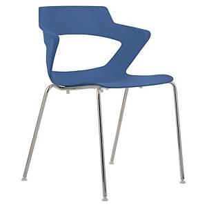 Konferenčná stolička Antares Aoki, modrá