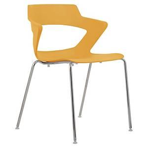 Konferenční židle Antares Aoki, oranžová