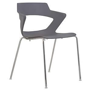 Konferenčná stolička Antares Aoki, antracit