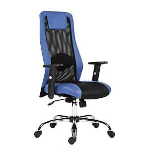 Kancelárska stolička Antares Sander, modrá & čierna