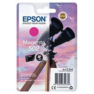 Cartouche d encre Epson 502 - magenta
