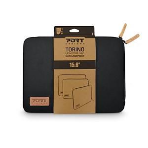 PORT DESIGNS Torino Laptopschutzhülle 15,6  schwarz