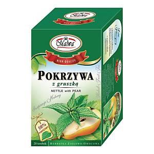 Napar ziołowy MALWA Pokrzywa z gruszką, 20 torebek