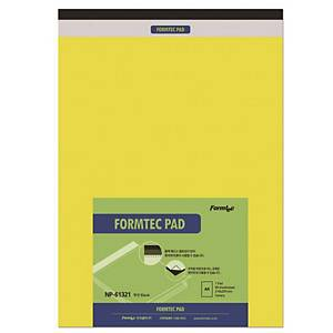FORMTEC REGAL PAD BLANK A4 YLLW 3SET
