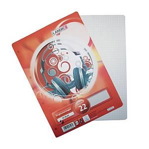 Ringbucheinlagen Landre 100050461, A4, kariert, 100 Blatt