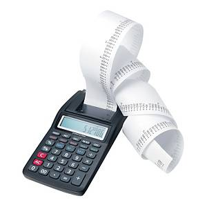 Rotolo carta termica BPA free per calcolatrici 57 mm x 25 m 55 g/mq - conf. 10