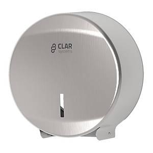 Dispensador de papel higiénico industrial Clar Systems Innex - acero Inoxidable