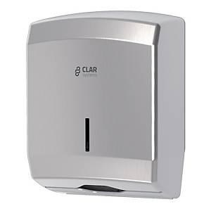 Dispensador de toalhas de mãos Clar Systems Innex - Aço inoxidável