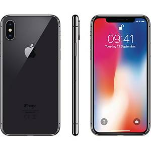 Smartphone Apple iPhone X, 256 GB, rymdgrå