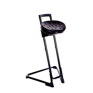 ERGOMOBEL INDUSTRIAL STOOL PA-A BLACK