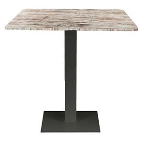 OFFICE TABLE VINTAGE 70X70X74CM NAT PINE