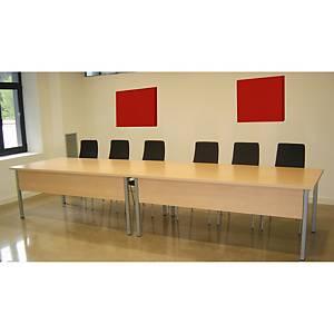 Painel de parede - 600 x 600 mm - vermelho
