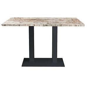 OFFI TABLE 120X70X74CM H BASE NAT PINE