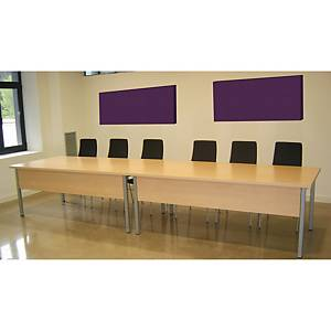 WALL ACOUSTIC PANEL 120X60CM LILAC