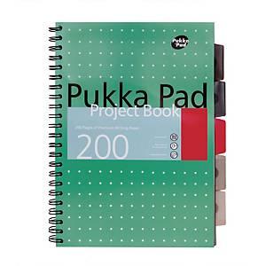 Pukka Metallic Project Book A4+ Green