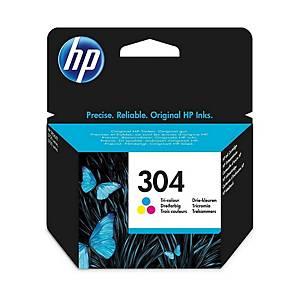 HP inkoustová kazeta 304 (N9K05AE) 3barevná C/M/Ž