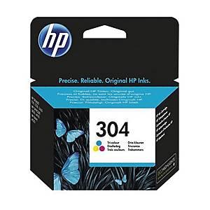Cartuccia inkjet HP N9K05AE N.304 100 pag colori