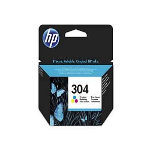 HP 304 Tri-color Original Ink Cartridge (N9K05AE)