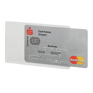 Tasca portatessere Durable RFID Secure trasparente - conf. 3