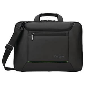 Sacoche ordinateur portable Targus EcoSmart laserjet jusqu'à 15,6 pouces, noire