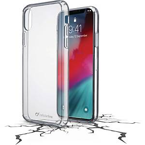 Mobilskal Cellularline Clear Duo, till iPhone XR