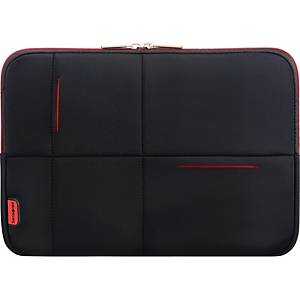 Sleeve Samsonite Airglow laptop, sort/rød, 15,6