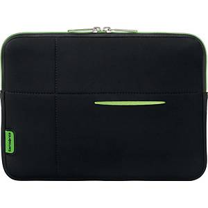 Sleeve Samsonite Airglow laptop, sort/grøn, 13,3